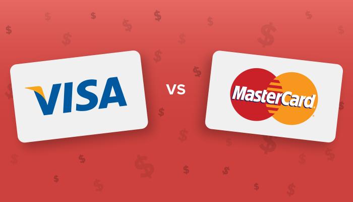 Forskjellen på MasterCard og VISA